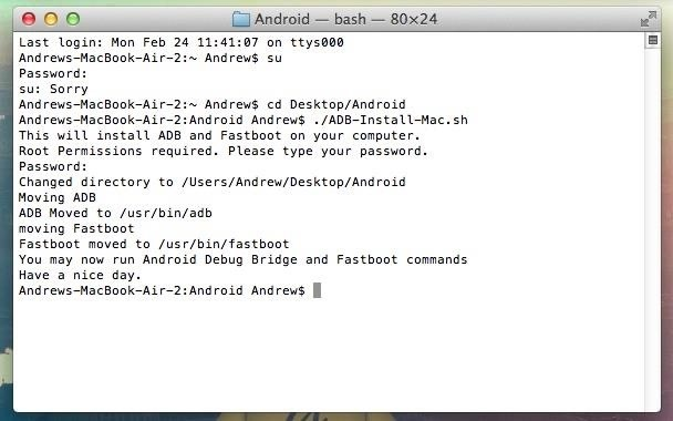 How to Install ADB & Fastboot in Mac OS X to Send Commands to Your HTC One