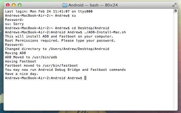 ADB Fastboot Commands