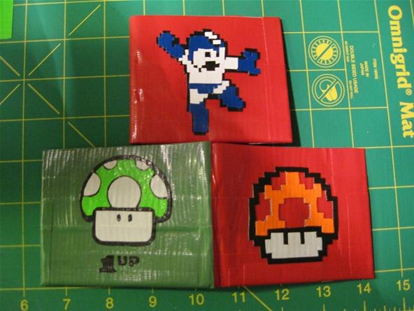 the gallery for gt duct tape wallet template pdf