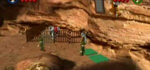 Find the Young Indy secret level in LEGO Indiana Jones