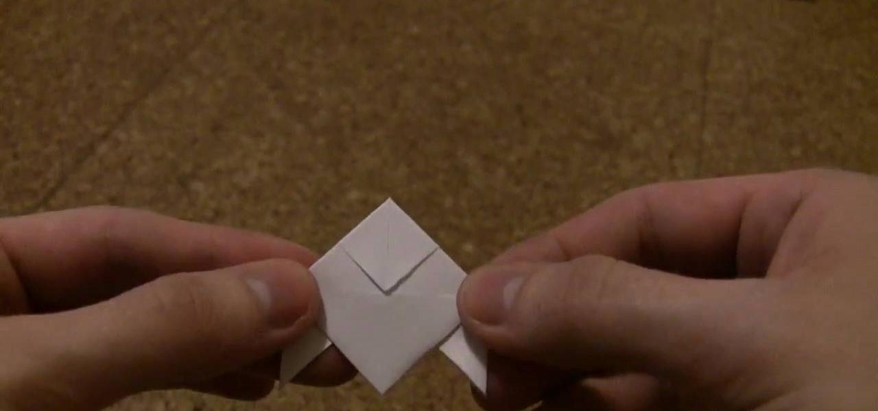 How To Fold A Heavy Rain Style Paper Origami Bird WonderHowTo