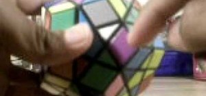 Solve the Megaminx puzzle
