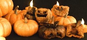 Carve, Char, & Contort a Creepy Miniature Jack-O'-Lantern for Halloween
