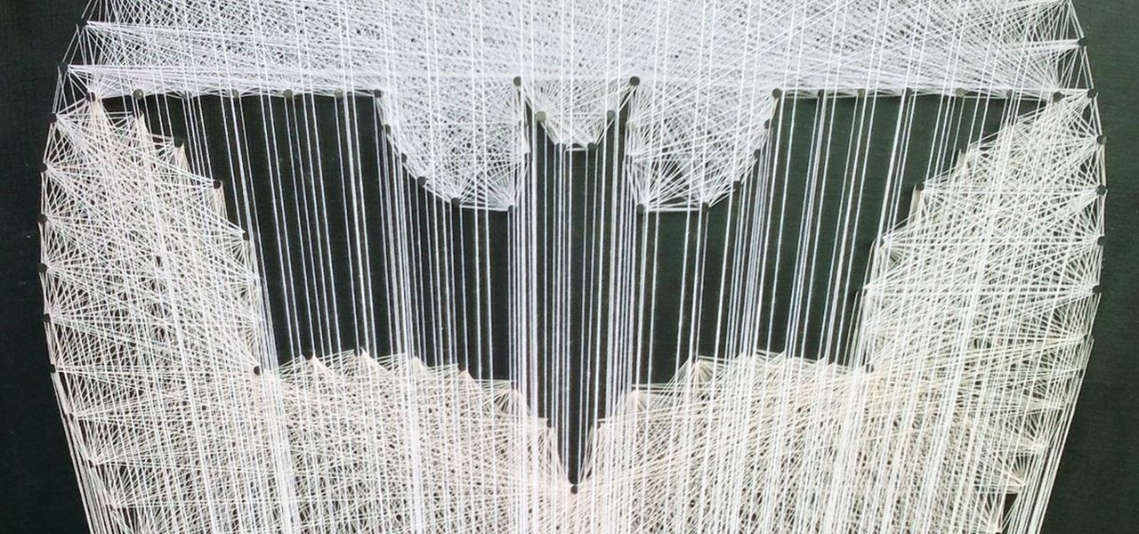How To : Holy String Art, Batman! 6 of the Coolest Thread Art Projects ...