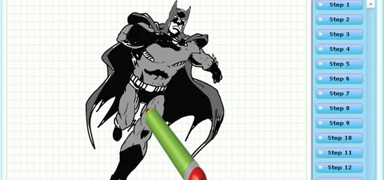 Draw Batman
