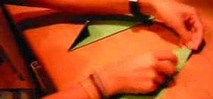 Origami a Japanese paper shuriken