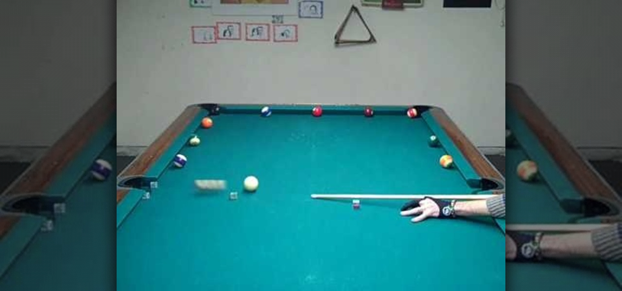 How to Train using the wagon wheel cue ball control method