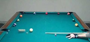 Train using the wagon wheel cue ball control method