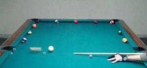 Train using the wagon wheel cue ball control method
