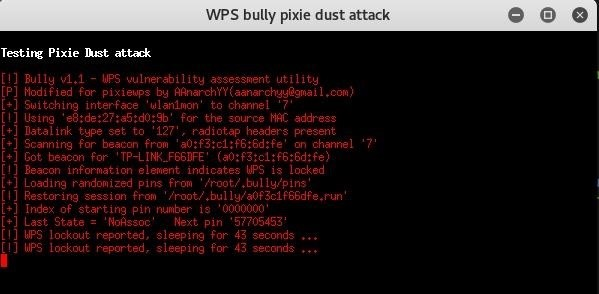 Is There a Way to Trick the A.P Limiting in the WPS Security.