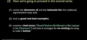 Write a good argumentative essay introduction
