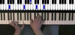 "Play ""Misty"" by Erroll Garner on the piano"