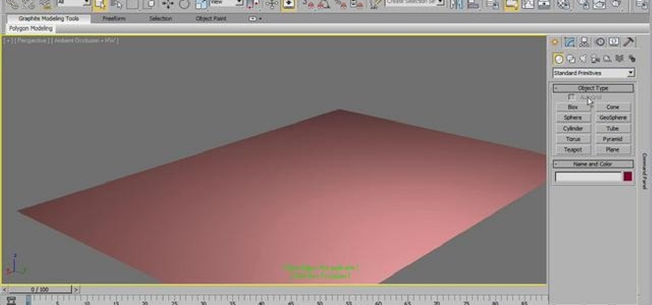How to create basic 3d models in 3d studio max 2011 for 3d studio max models