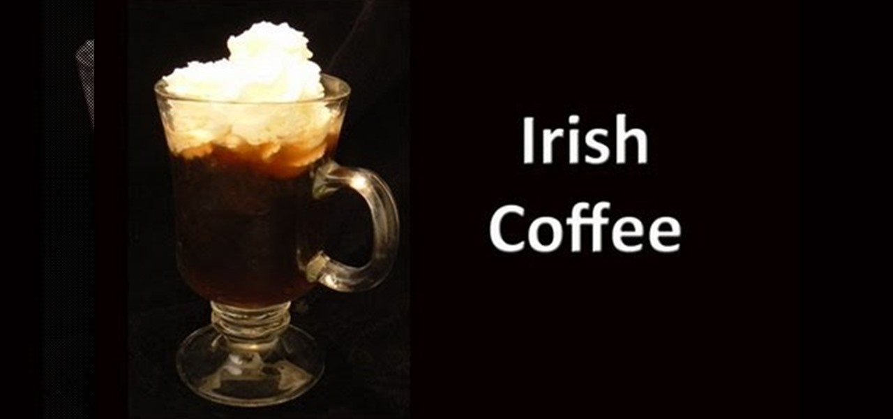 How to Mix an Irish coffee cocktail « Whiskey, Scotch & Bourbon