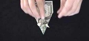 Origami basic orikane heads with dollar bills