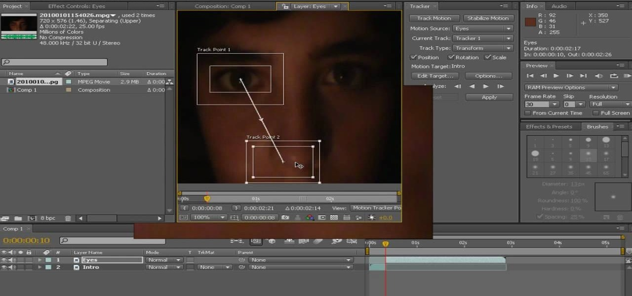 How to Make an eye glowing effect in Adobe After Effects « After