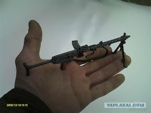 Russian Hobbyist Creates Collection of Mini-Weaponry