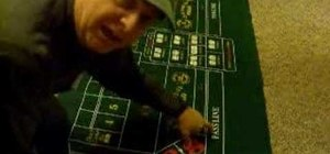 Playing craps for beginners