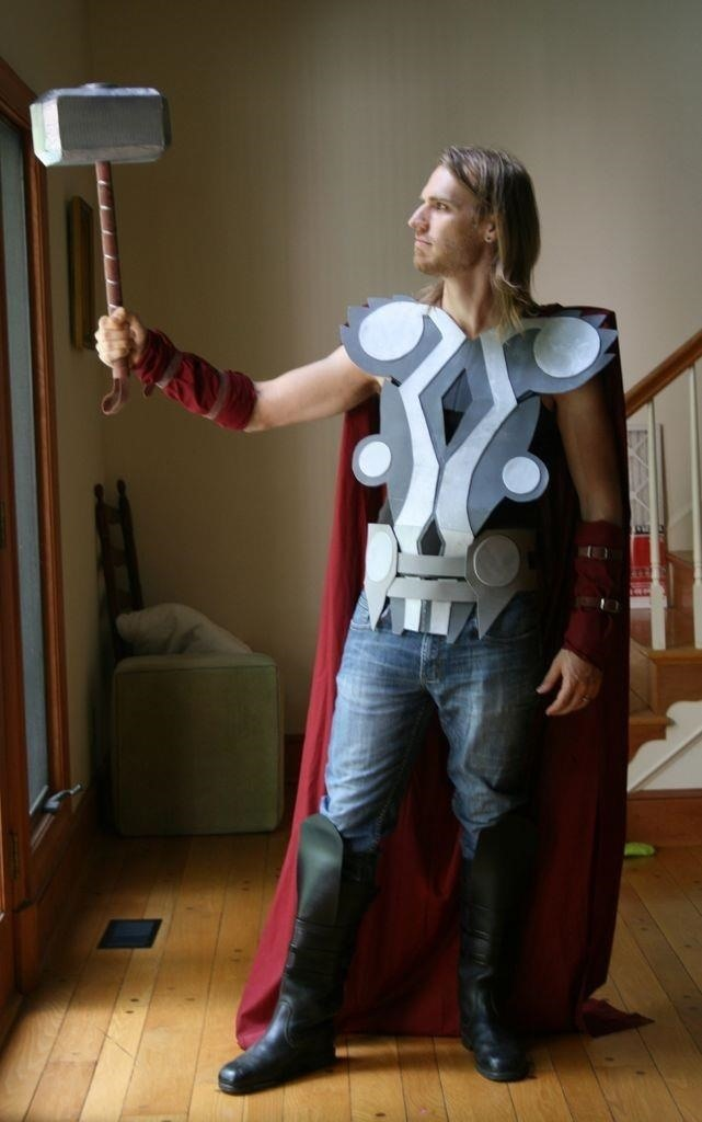How to Make a Badass Thor Costume for Halloween on the Cheap
