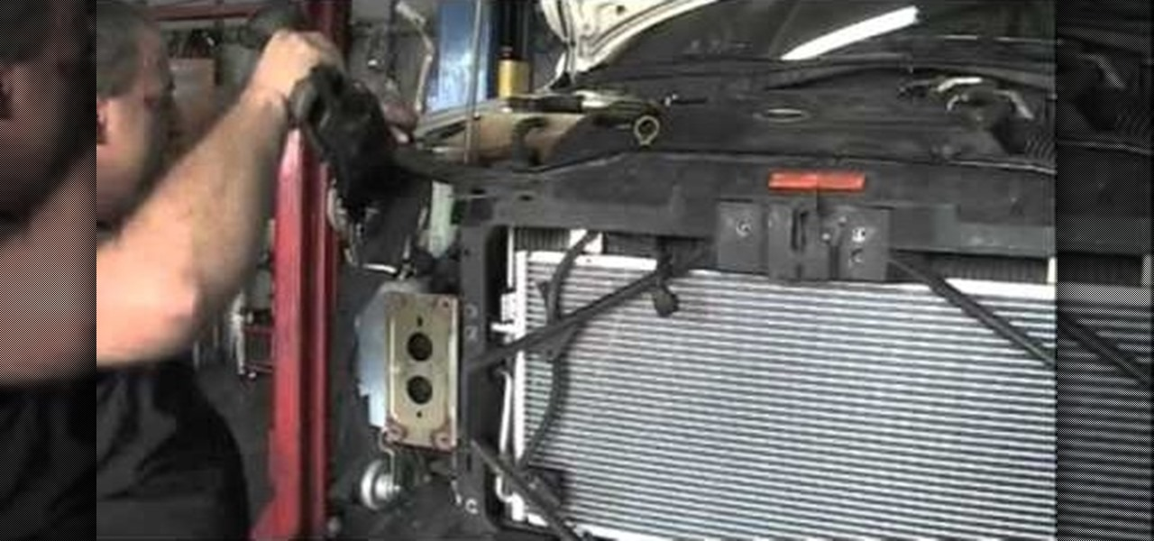 How To Fix The Air Conditioning Condenser On A Mazda 6