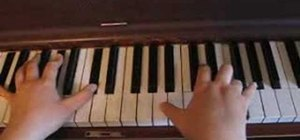 "Play ""Goodbye"" by Miley Cyrus on the piano"