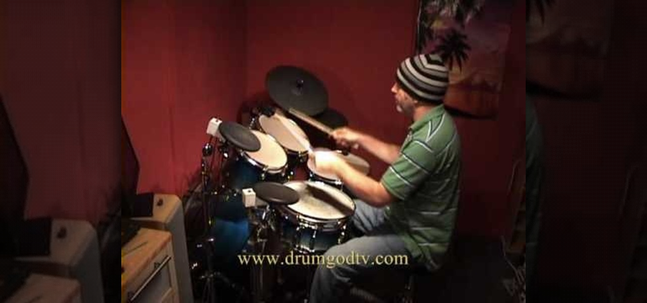 How to Play the drum fill from