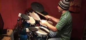 "Play the drum fill from ""In the Air Tonight"" on drums"