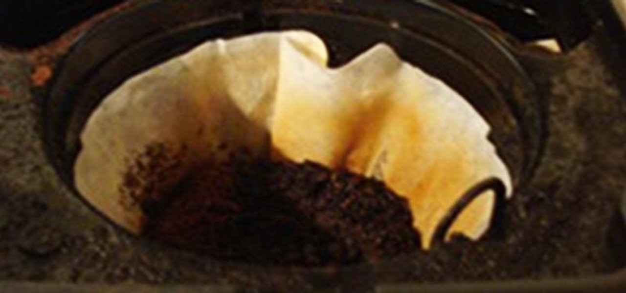Reuse Old Coffee Grounds