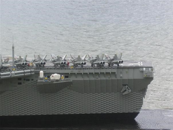 LEGO Aircraft Carrier