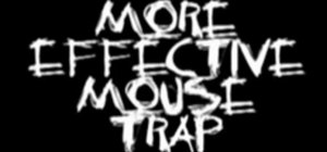 Control pests with a more effective mouse trap