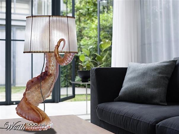 octopus lamp
