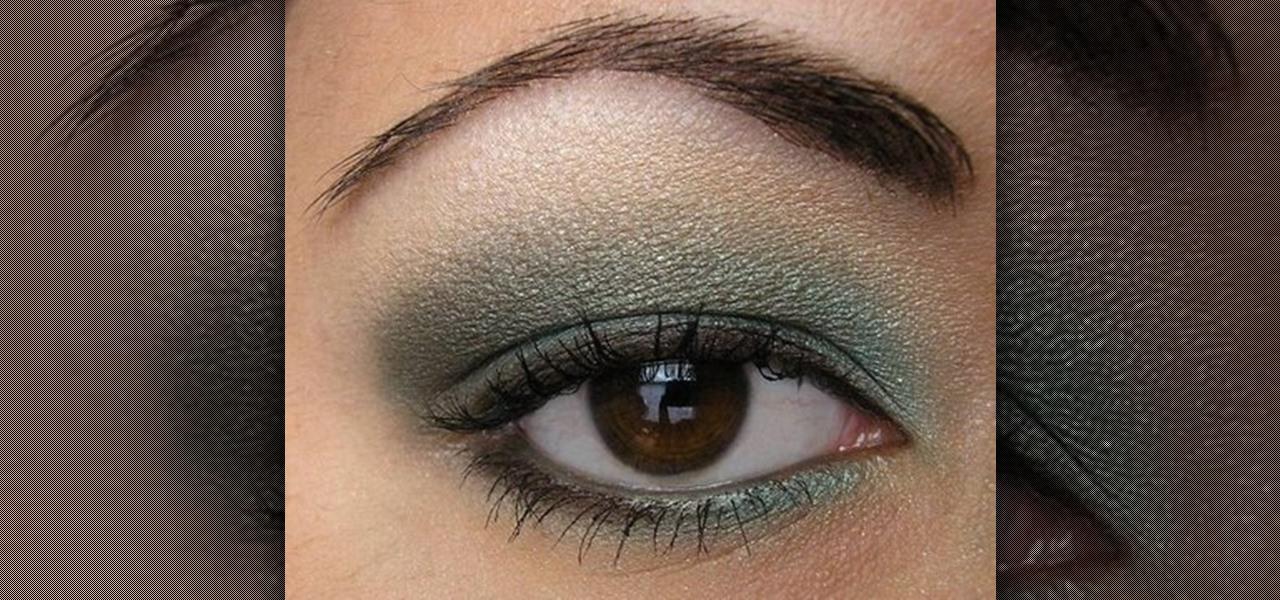 How To Create A Light Teal Smokey Eye Makeup Makeup Wonderhowto