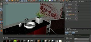 Create a 3D model of a bathroom in MAXON Cinema 4D