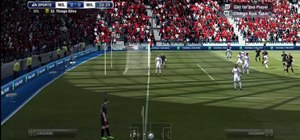 Perform a curved in corner kick goal in Fifa 12