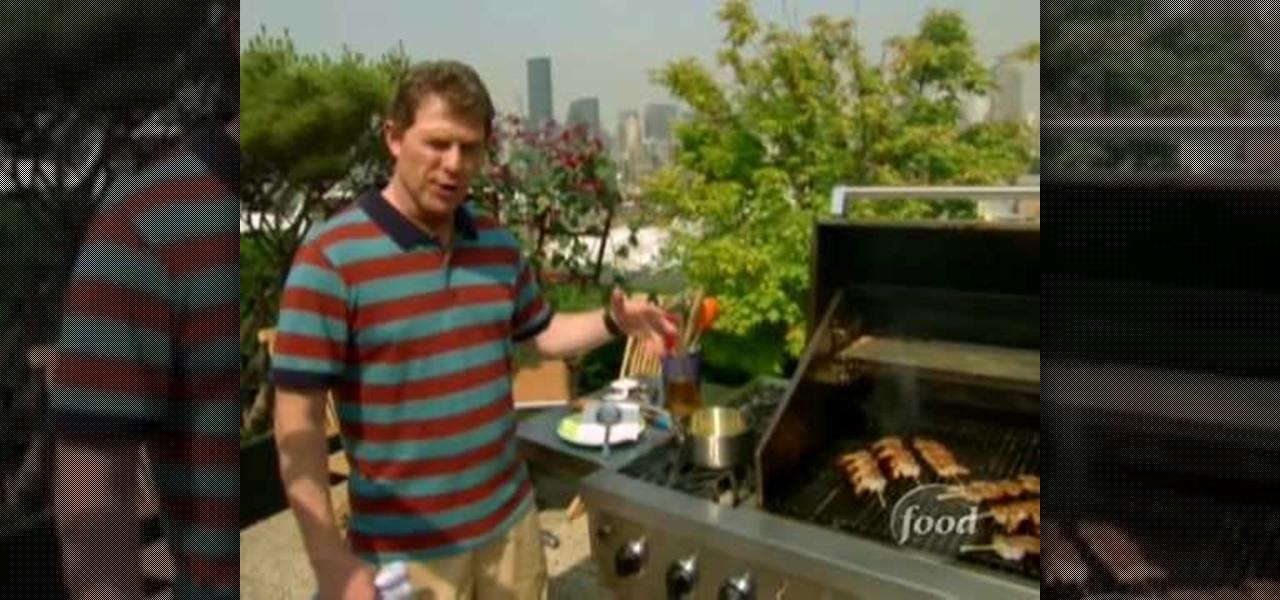 How To Make Grilled Shrimp And Garlic With Bobby Flay « Shellfish ::  WonderHowTo