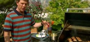 Make grilled shrimp and garlic with Bobby Flay