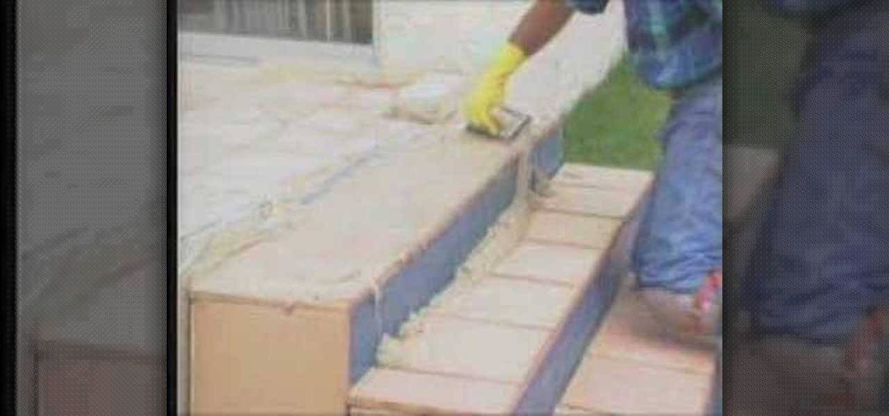 How To Grout Backyard Tile Steps 171 Construction Amp Repair