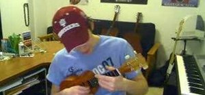 """Play """"Warning Sign"""" by Coldplay on ukulele"""