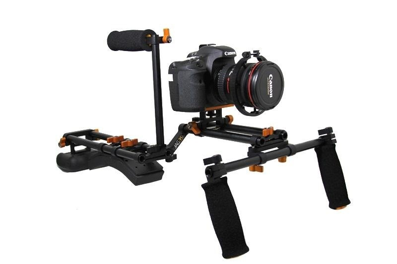 How to Build a PVC Shoulder Rig Stabilizer for Your DSLR Camera for Under $25