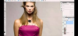 Fix details and wrinkles when retouching a fashion portrait in Photoshop CS5