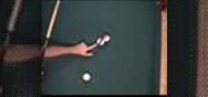 Visualize the cue ball contact point