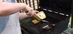 Make a grilled cheese sandwich