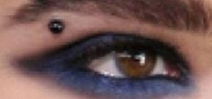 Create an edgy rocker Bill Kaulitz makeup look