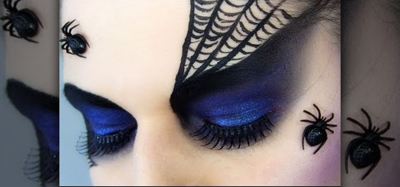 How to Create a dramatic purple Spider Queen/Black Widow look for ...