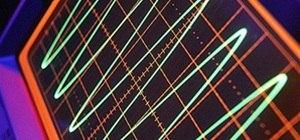 Electron Spirographs with a Cathode Ray Tube