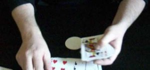 Perform the clock card trick