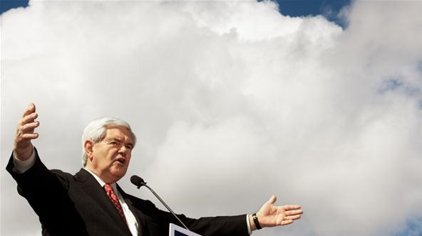 Newt Gingrich Promises First Permanent Moonbase If Elected
