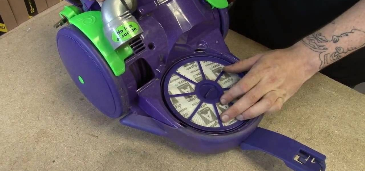 How To Replace The Filters On A Dyson Dc05 Vacuum Cleaner