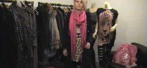Wear a pashmina scarf