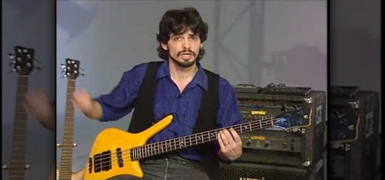 how to tune up your bass guitar with dale titus bass. Black Bedroom Furniture Sets. Home Design Ideas